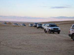 desert convoy