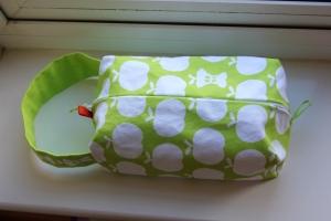 Washbag - by me and Clothkits