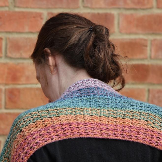 parquet stitch scarf